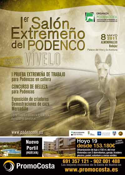 I SALÓN EXTREMEÑO DEL PODENCO
