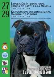 27 EXPOSICIÓN INTERNACIONAL CANINA DE CASTILLA-LA MANCHA y 29 EXPOSICI&Oa