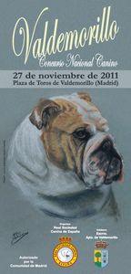 Concurso nacional canino en Valdemorillo de Madrid el 27-11
