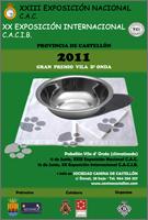 Exposición canina XXII nacional y XX internacional en castellon