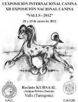 Exposición nacional e internacional canina VALLS - 2012
