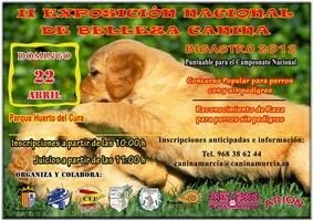 II Exposición Nacional de Belleza Canina de Bigastro 2012