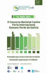 X Concurso nacional canino de  Silleda en Galicia