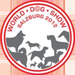 Exposición mundial canina 2012 en Salzburgo en Austria