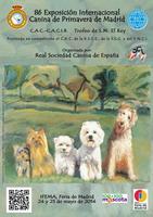 Exposición internacional canina de primavera de 2014 de Madrid