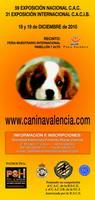 Exposición canina nacional e internacional en Valencia 17 y 18
