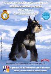 32 Exposición Internacional Canina de Otoño el 3 y 4 octubre de 2015