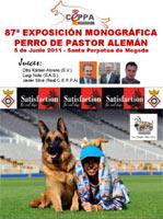 87ª Exposición canina Monográfica del pastor aleman