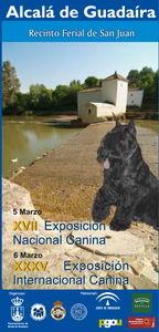 XVII EXPOSICIÓN CANINA NACIONAL Y XXXV INTERNACIONAL ALCALA DE GUADAIRA