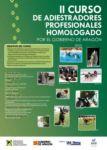 II Curso de Adiestradores Profesionales Homologado por el Gobierno de Arag&oacut