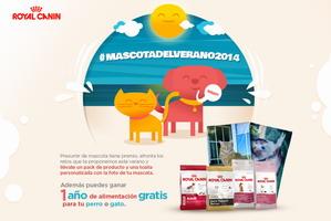 Concurso para perros, se busca la MASCOTADELVERANO2014