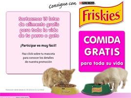 Consigue con friskies comida gratis para tu perro