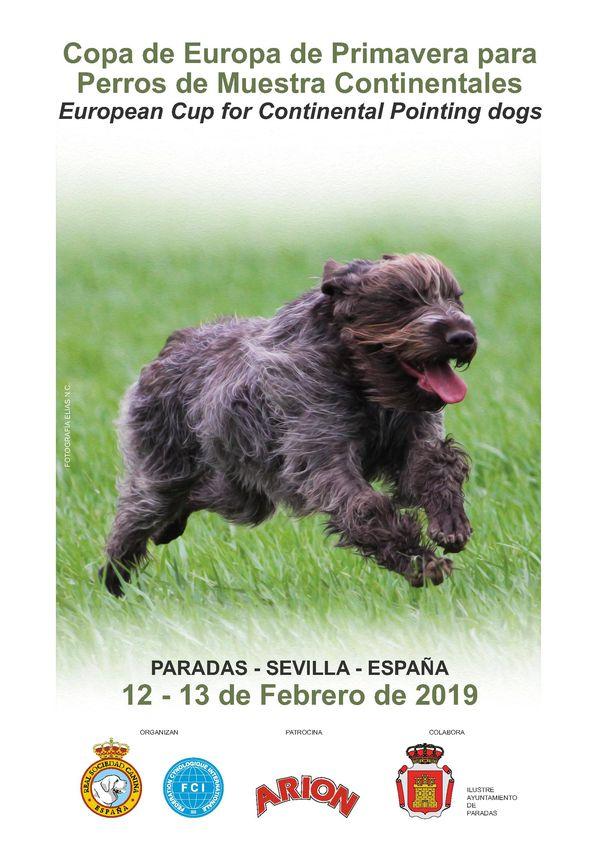 Copa de Europa de Primavera Continentales para perros 2019