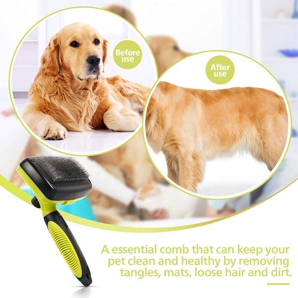 Cepillos limpiadores de pelos de perros y mascotas
